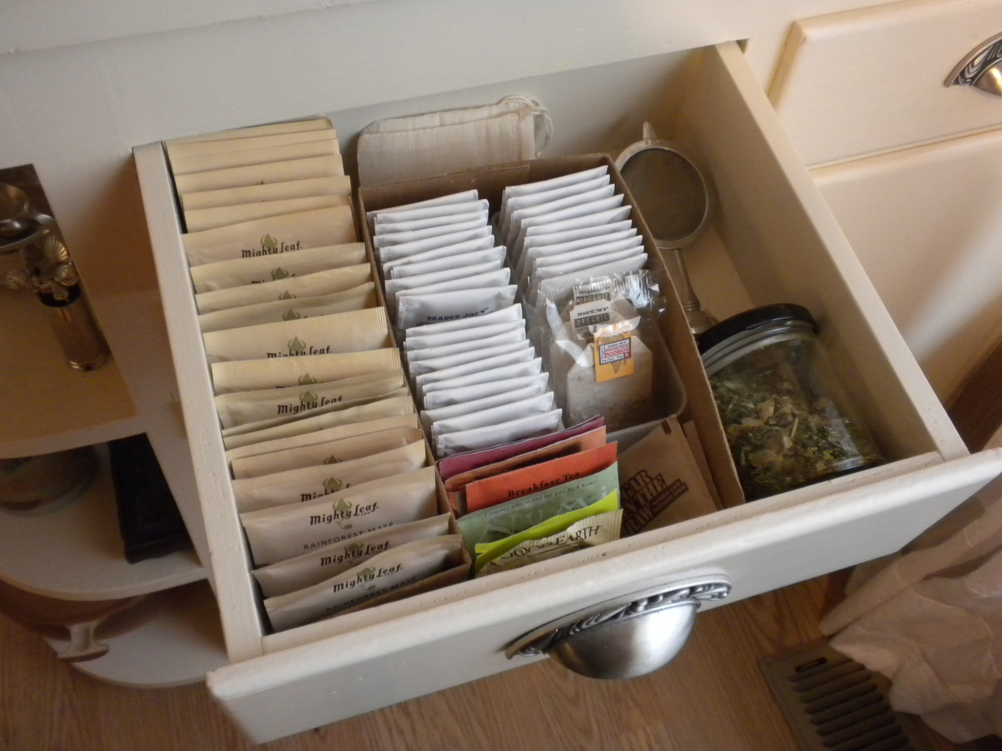 see tea drawer - Reuse Repurpose