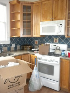 Organizing in preparation for a kitchen remodel in berkeley and oakland