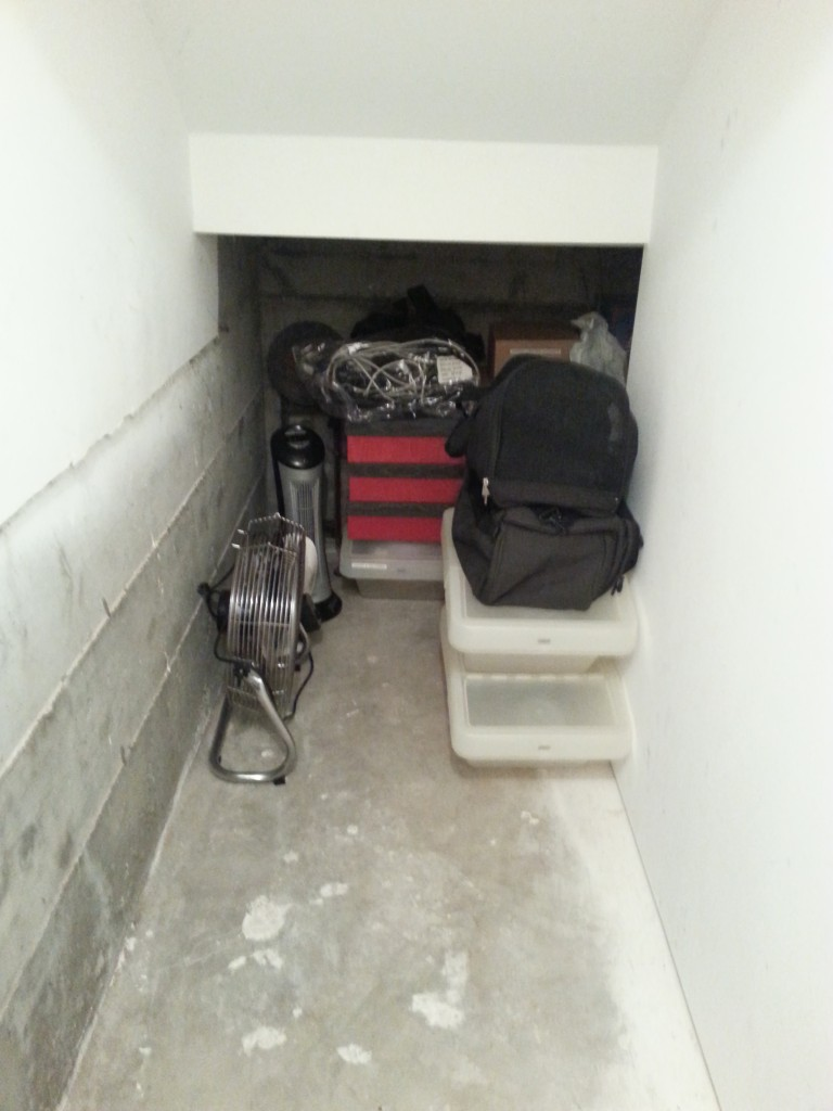basement declutter- after 3