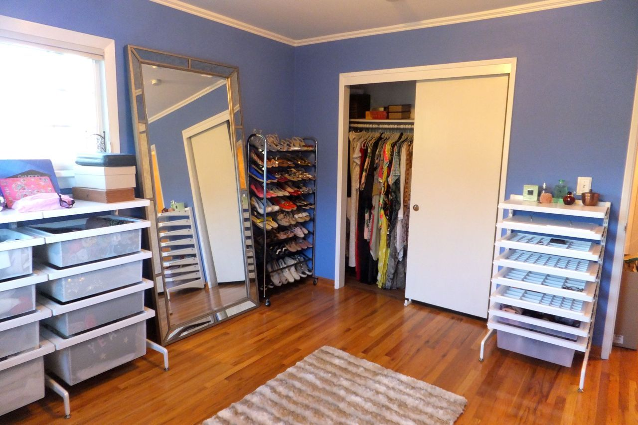 Charmant A Walk In Closet Organizing Dream